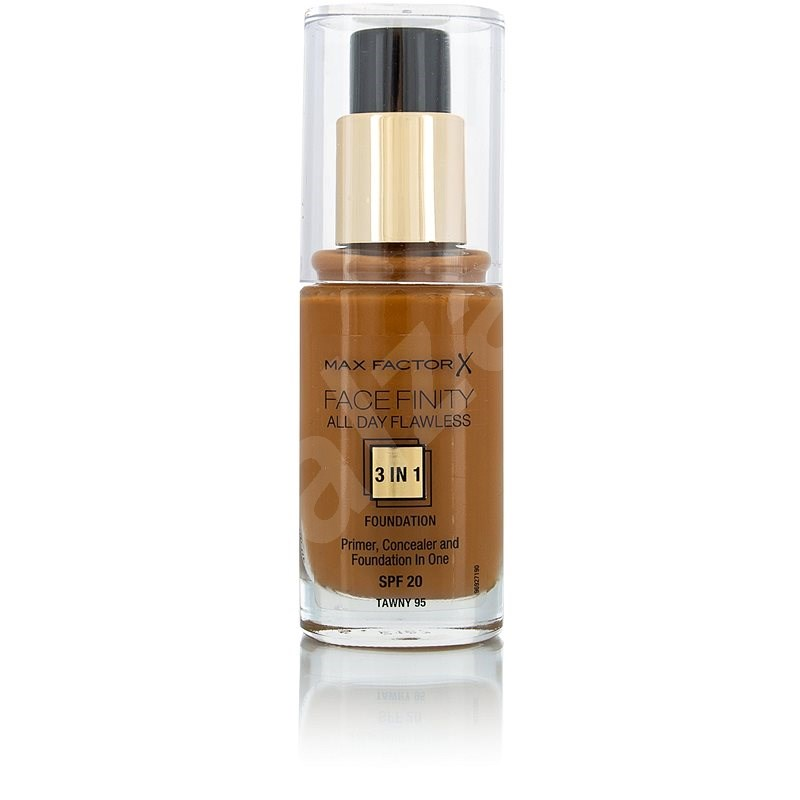MAX FACTOR Facefinity All Day Flawless 3in1 Foundation SPF20 95 Tawny 30 ml - Make-up
