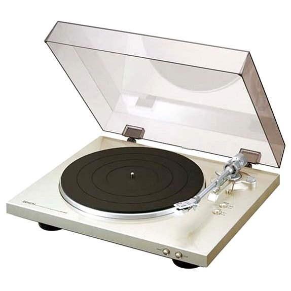 DENON DP-300F premium silver - Gramofon