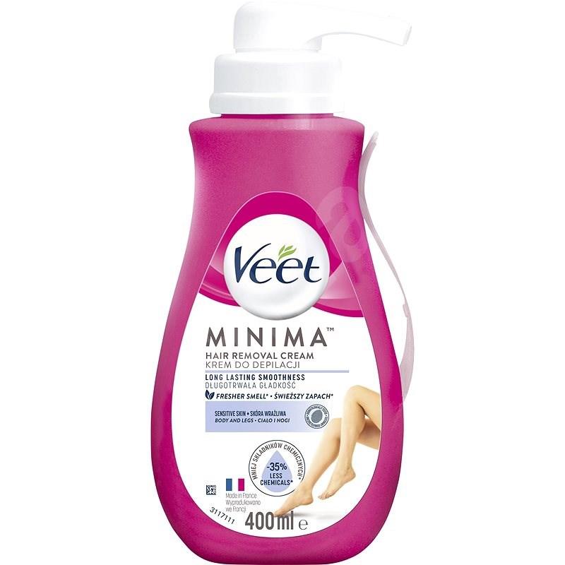 VEET Minima Sensitive Skin Cream 400 ml - Depilační krém