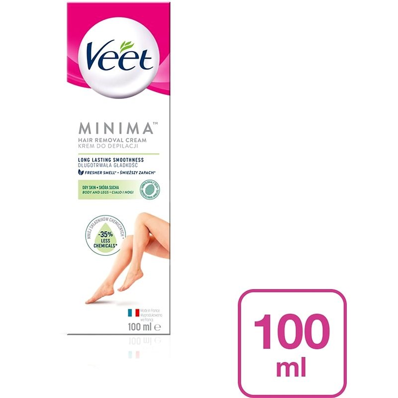 VEET Minima Dry Skin Cream 100 ml - Depilační krém