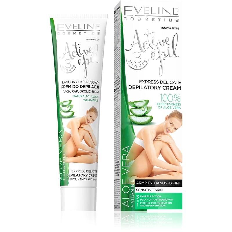 EVELINE Cosmetics Active Epil Aloe Vera Sensitive Skin 125ml - Depilatory Cream