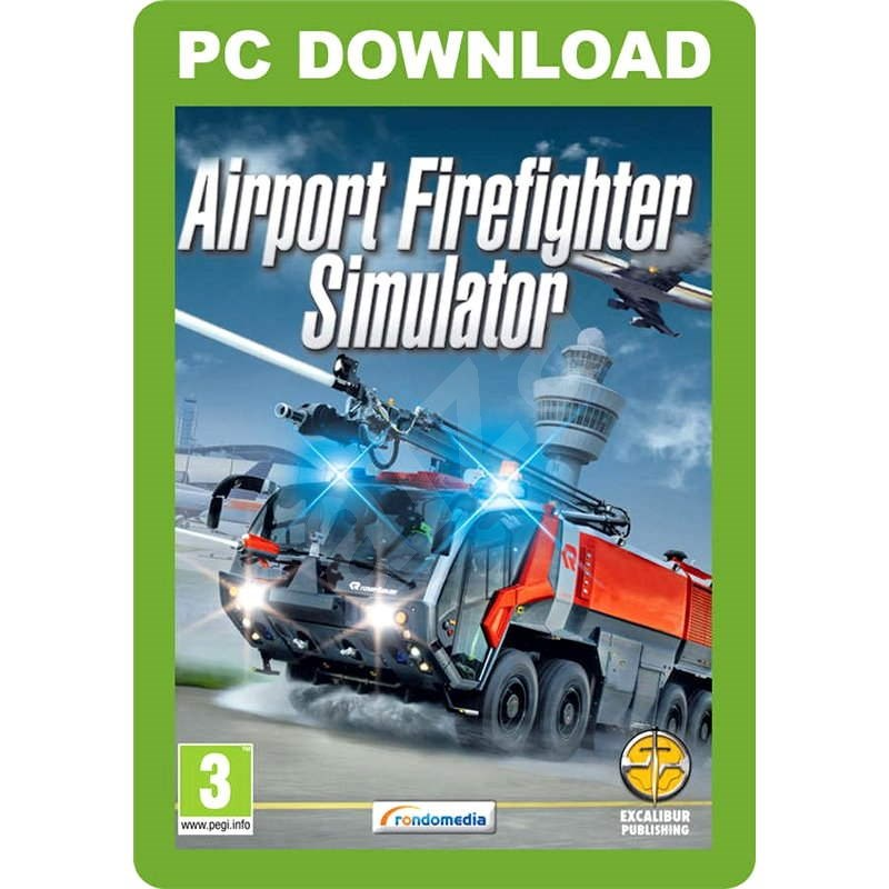 Airport Firefighter Simulator - Hra na PC
