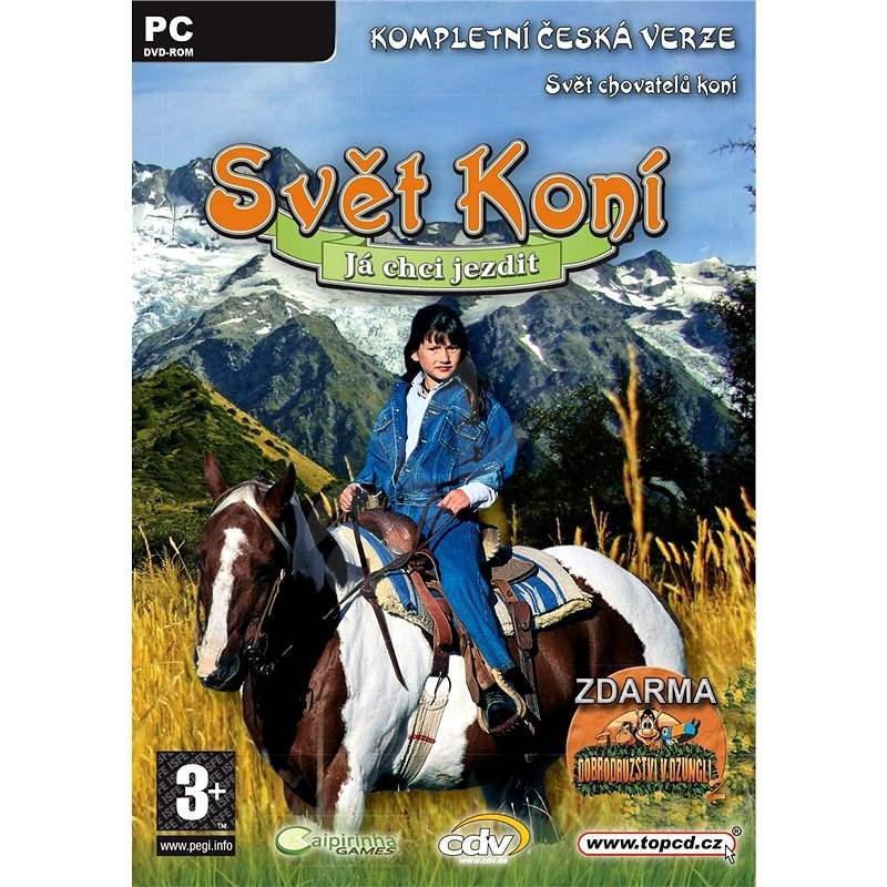 Svět koní - Já chci jezdit - Hra na PC