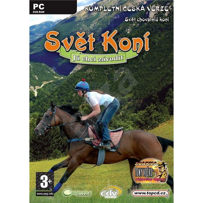 Svět koní - Já chci závodit - Hra na PC