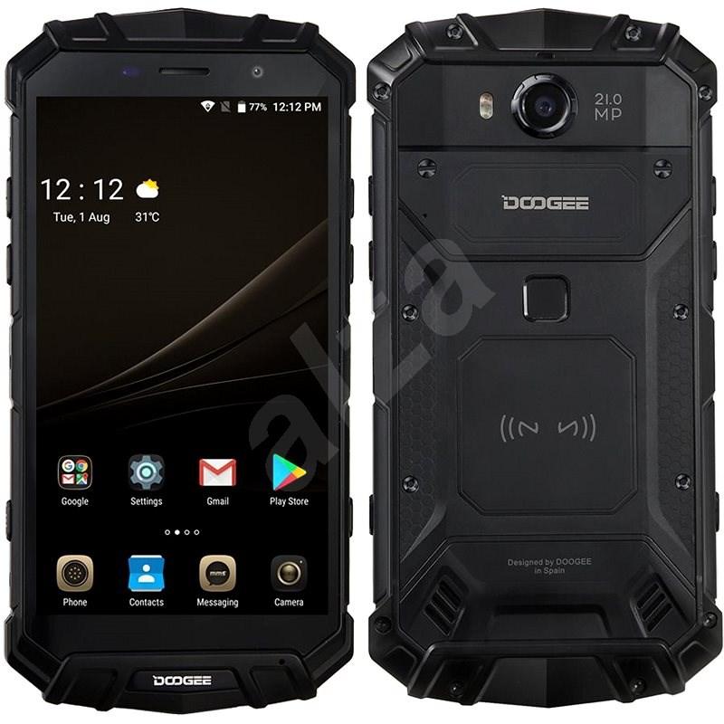 Doogee S60 Mineral Black - Mobilní telefon
