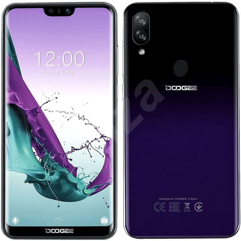 Doogee Y7 fialová - Mobilní telefon