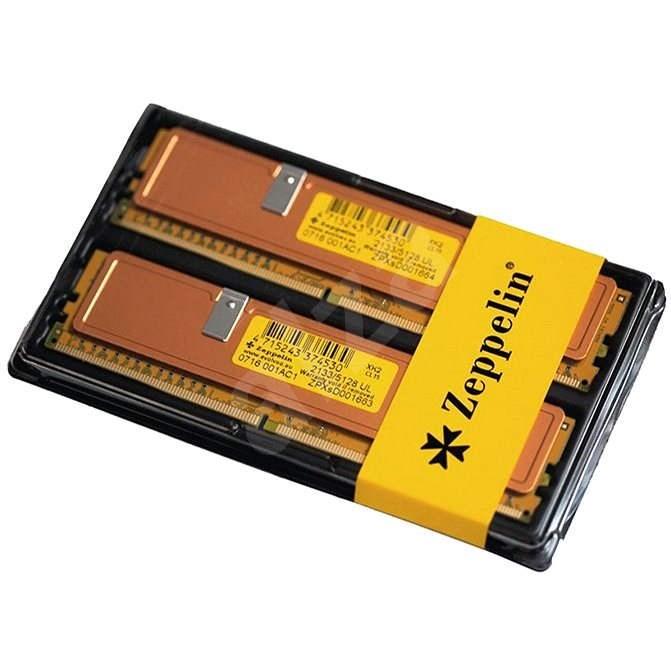 ZEPPELIN KIT 8GB DDR4 2400MHz CL17 GOLD - Operační paměť