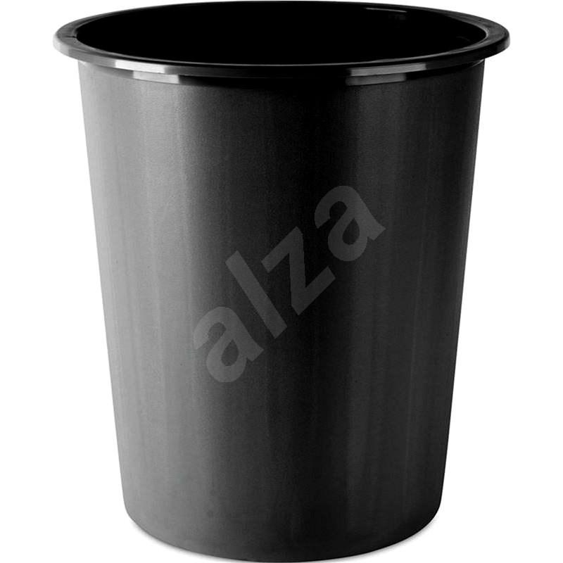 DONAU 14l černý - Odpadkový koš