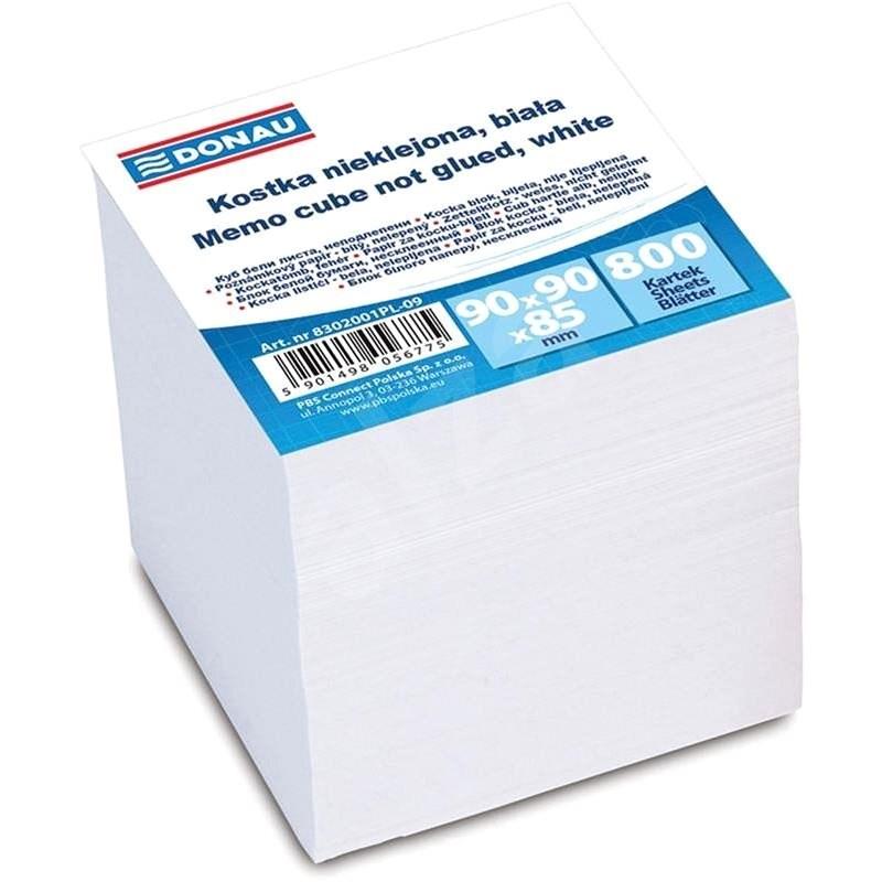 DONAU 90x90x90mm bílé - Papírové bločky