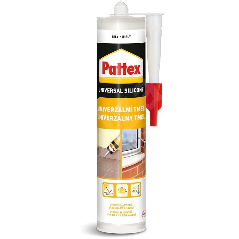 PATTEX Univerzální silikon bílý 280 ml - Silikonový tmel