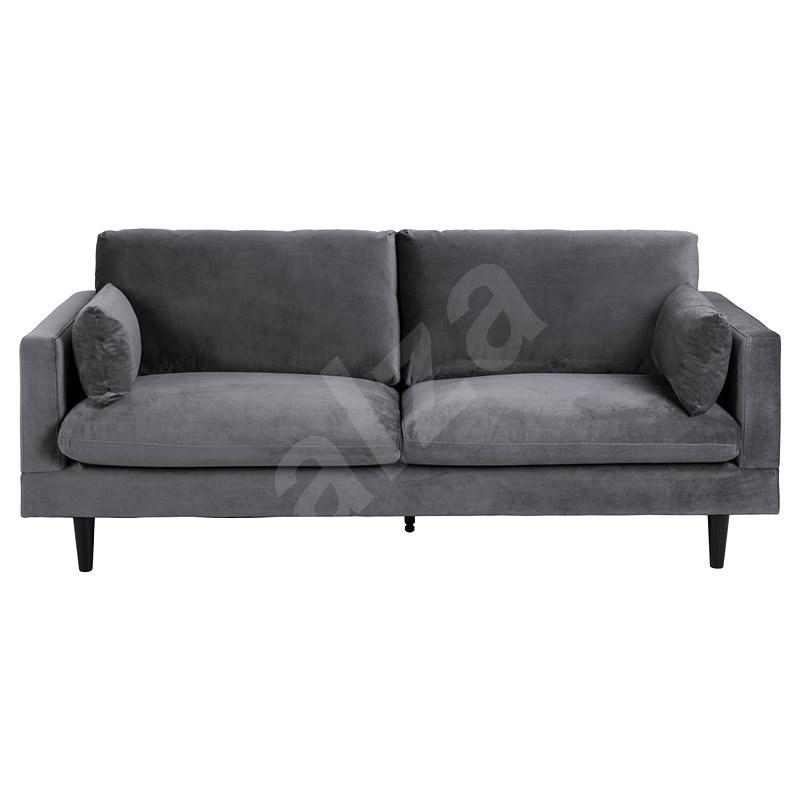 Design Scandinavia Pohovka Sunderland, 199 cm, tmavě šedá - Pohovka