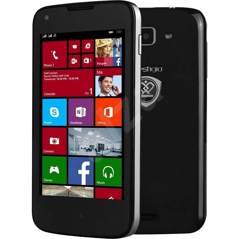 Prestigio MultiPhone 8400 DUO černý - Mobilní telefon