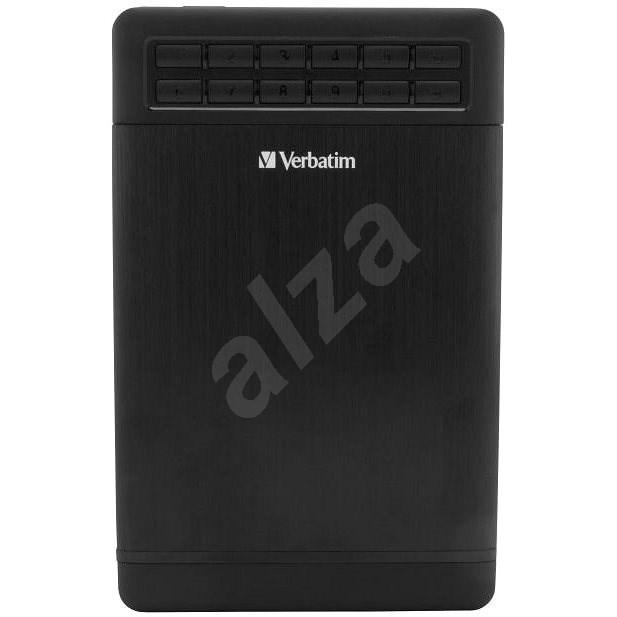 VERBATIM Secure externí box, USB 3.1 - Externí box