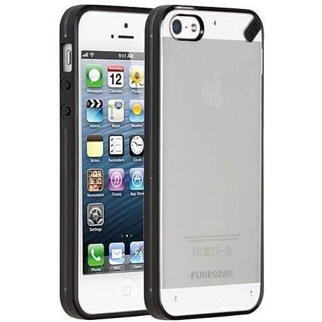 PureGear Slim Shell iPhone 5/ 5S Licorice Jelly - Pouzdro na mobil