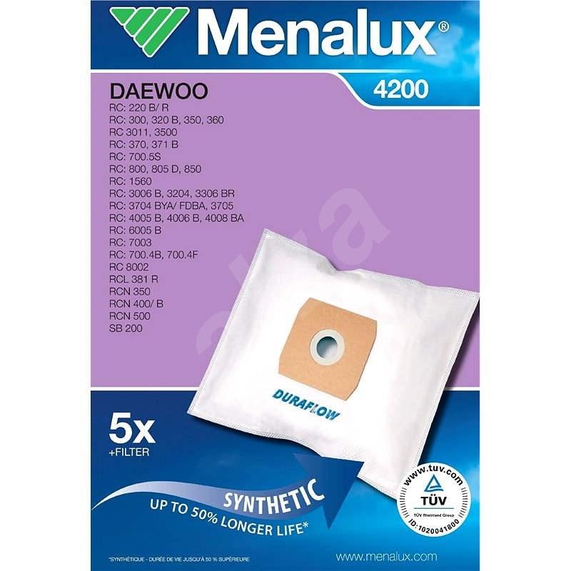 Menalux 4200 - Sáčky do vysavače