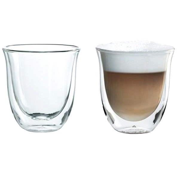 De'Longhi Sada sklenic 2ks Cappuccino - Sada sklenic