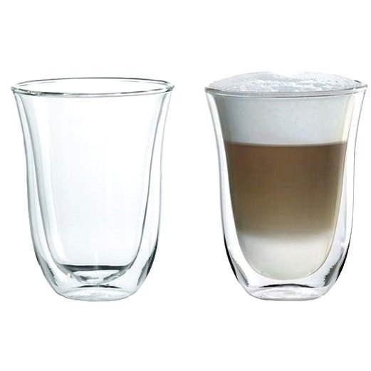 De'Longhi Sada sklenic 2ks Latte macchiato - Sada sklenic
