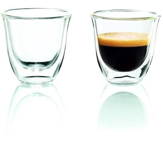 De'Longhi Sada sklenic 2ks Espresso skleničky - Sada sklenic