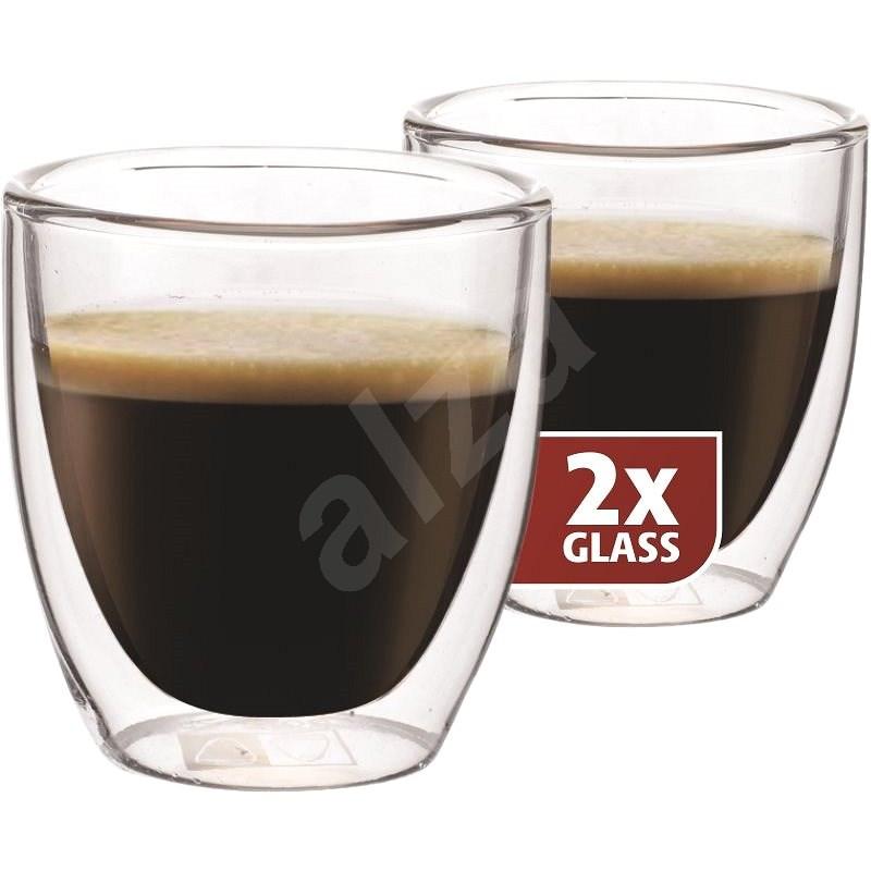 Maxxo Termo skleničky DG808 espresso 2ks - Sklenice na teplé nápoje