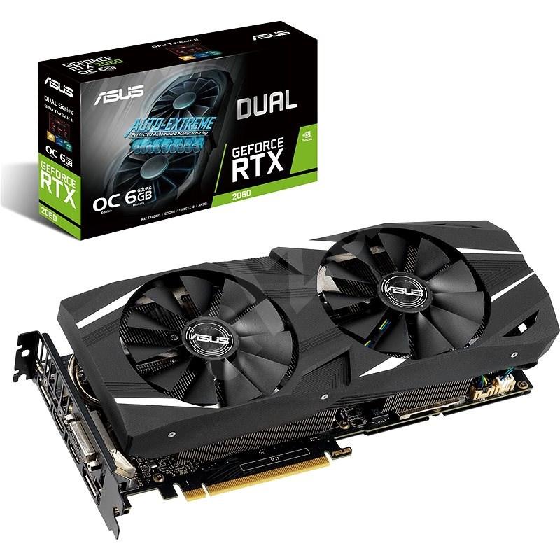 ASUS DUAL GeForce RTX 2060 O6G - Grafická karta