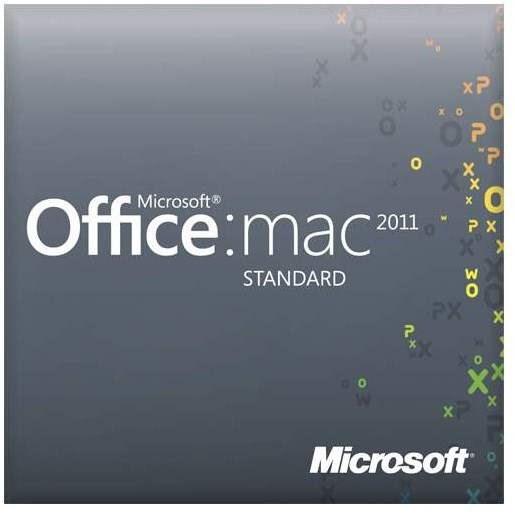 Office Mac Standard 2011 SNGL OLP NL Academic - Kancelářský balík