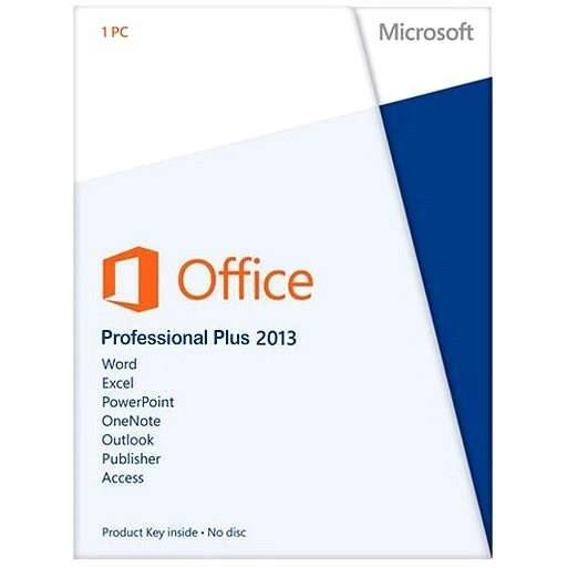Office Professional Plus 2013 SNGL OLP NL Academic - Kancelářský balík