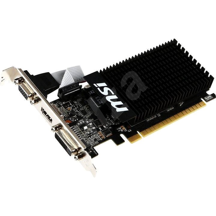 MSI GeForce GT 710 1GD3H LP - Grafická karta