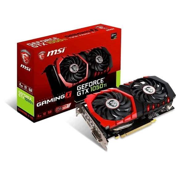 MSI GeForce GTX 1050 Ti GAMING X 4G - Grafická karta