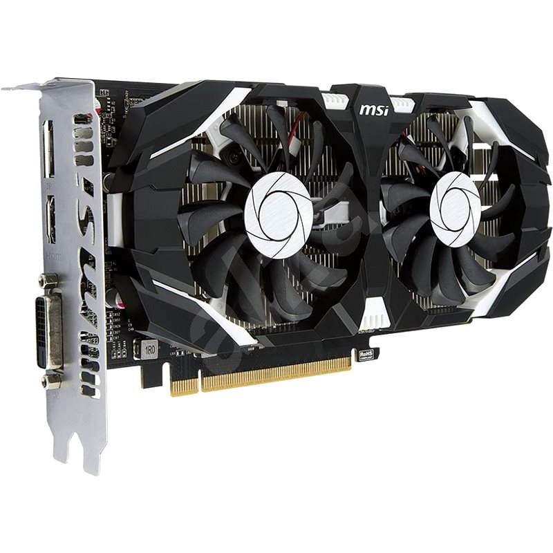 MSI GeForce GTX 1050 Ti 4GT OC - Grafická karta