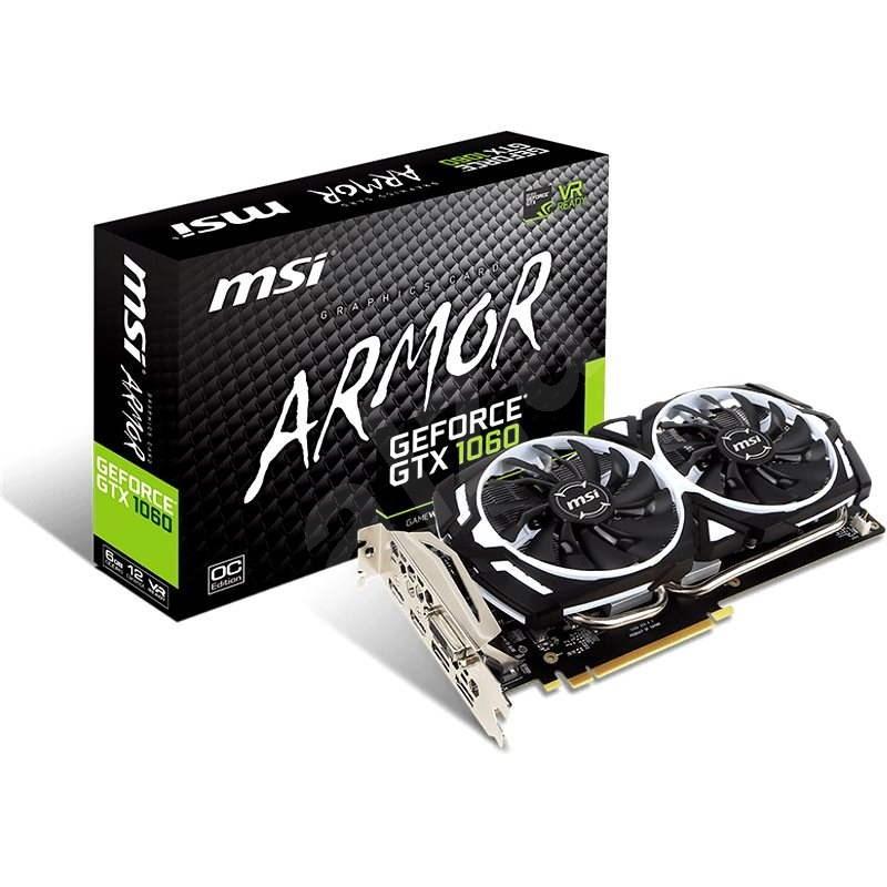 MSI GeForce GTX 1060 ARMOR 6G OCV1 - Grafická karta