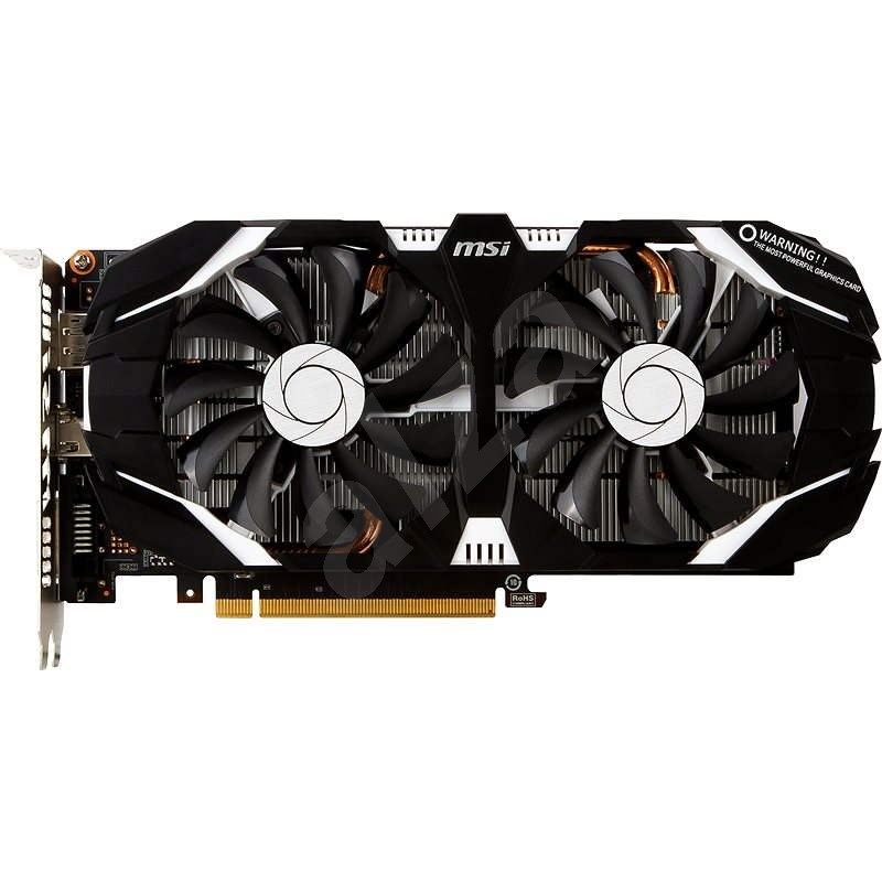 MSI GeForce GTX 1060 3GT OC - Grafická karta