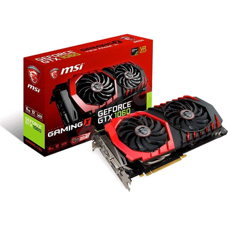 MSI GeForce GTX 1060 GAMING X 6G - Grafická karta