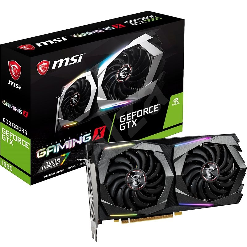 MSI GeForce GTX 1660 GAMING X 6G - Grafická karta
