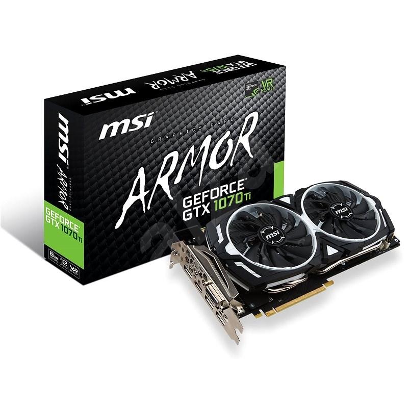 MSI GeForce GTX 1070 Ti ARMOR 8G - Grafická karta
