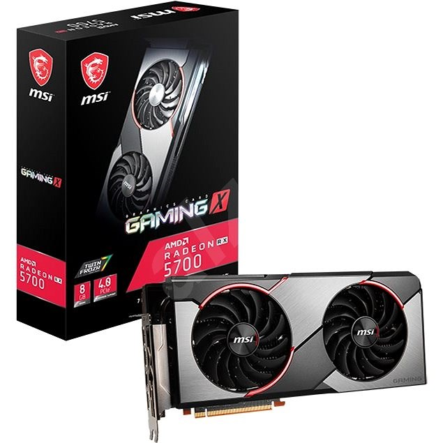 MSI Radeon RX 5700 GAMING X - Grafická karta