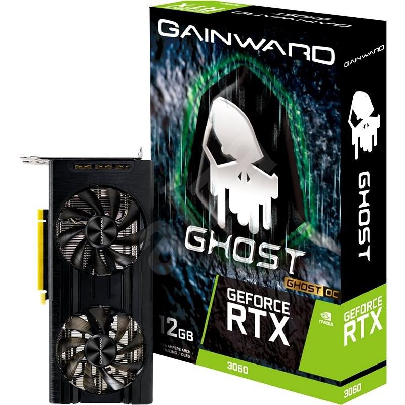GAINWARD GeForce RTX 3060 Ghost OC 12G - Grafická karta