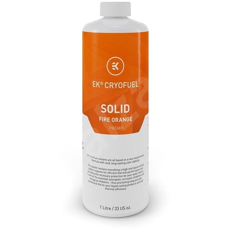 EK Water Blocks CryoFuel Solid Fire - oranžová - Chladící kapalina