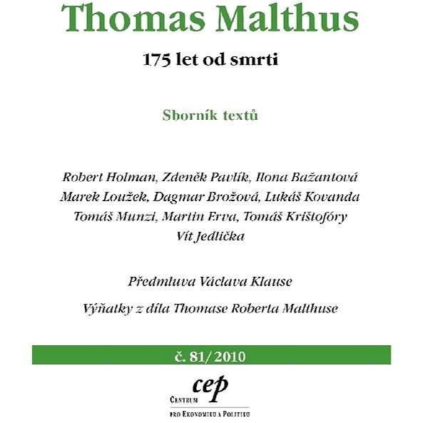 Thomas Malthus - Robert Holman