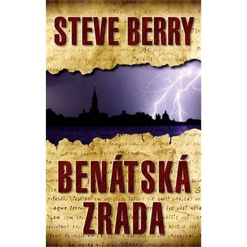 Benátská zrada - Steve Berry