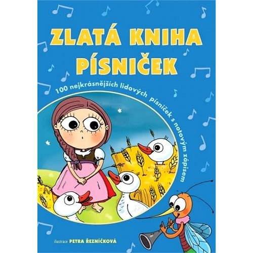 Zlatá kniha písniček - Petra Hauptová Řezníčková