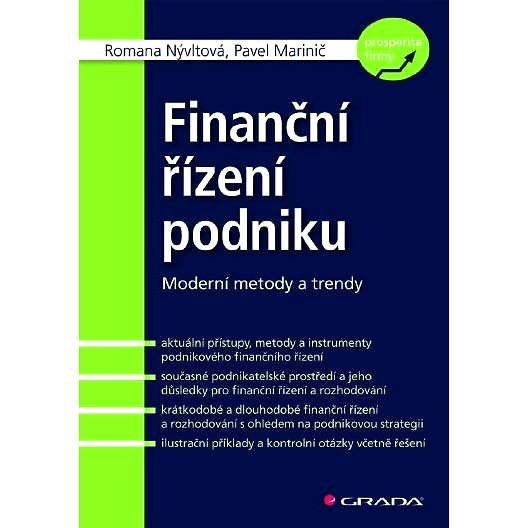 Finanční řízení podniku - Romana Nývltová