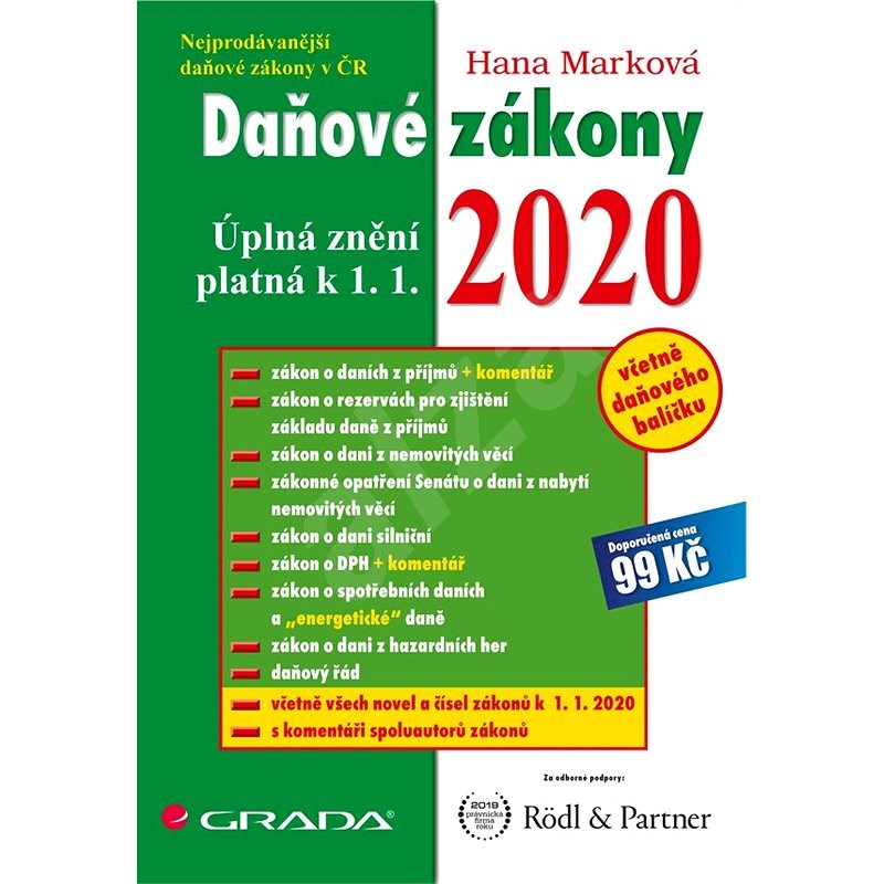 Daňové zákony 2020 - Hana Marková