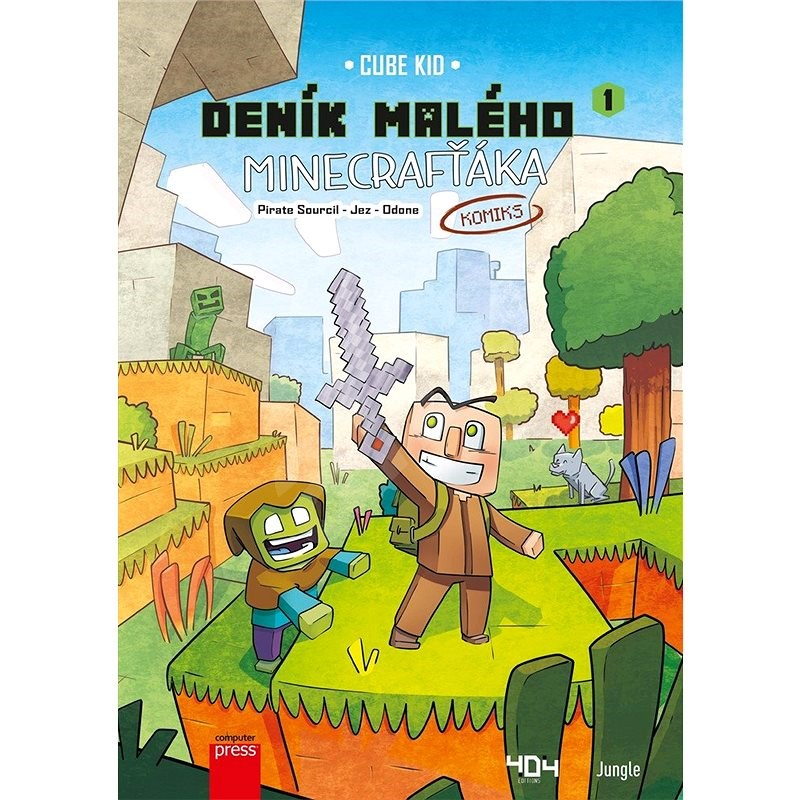 Deník malého Minecrafťáka: komiks - Cube Kid