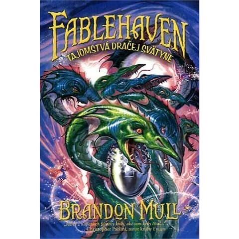 Fablehaven 4: Tajomstvá dračej svätyne - Brandon Mull