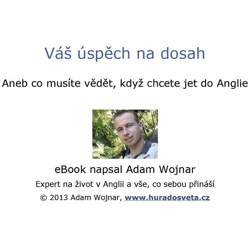Váš úspěch na dosah - Adam Wojnar