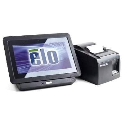 ELO ETT10A1 + stojánek + náhradní baterie + tiskárna TSP143 + SW SEP System TiGo - Pokladna