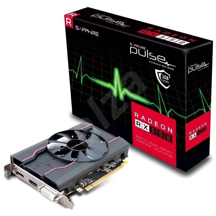 SAPPHIRE PULSE Radeon RX 550 2G OC - Grafická karta