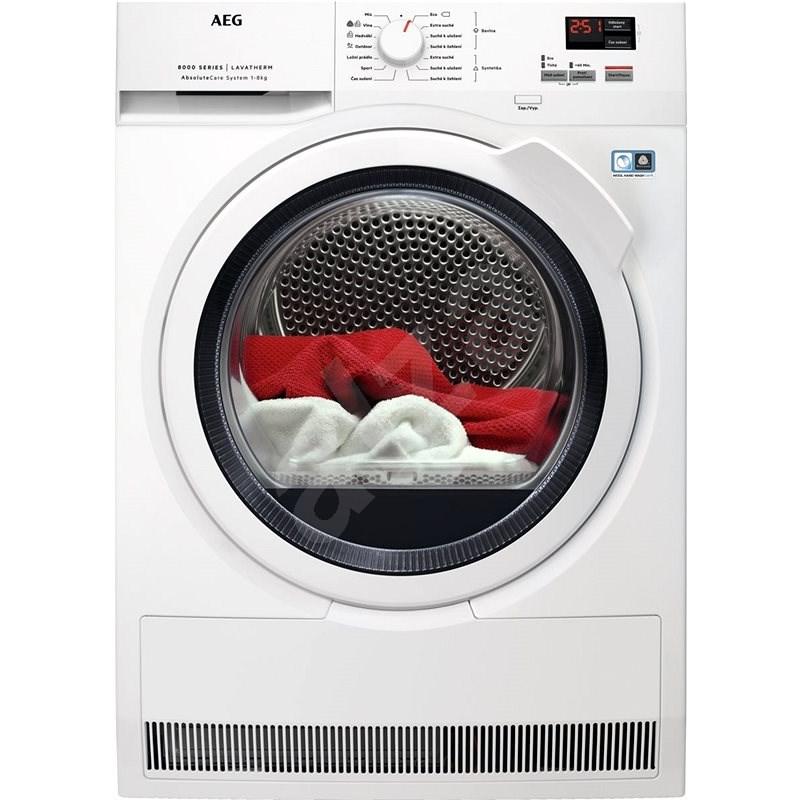 AEG AbsoluteCare T8DBK68WC - Sušička prádla