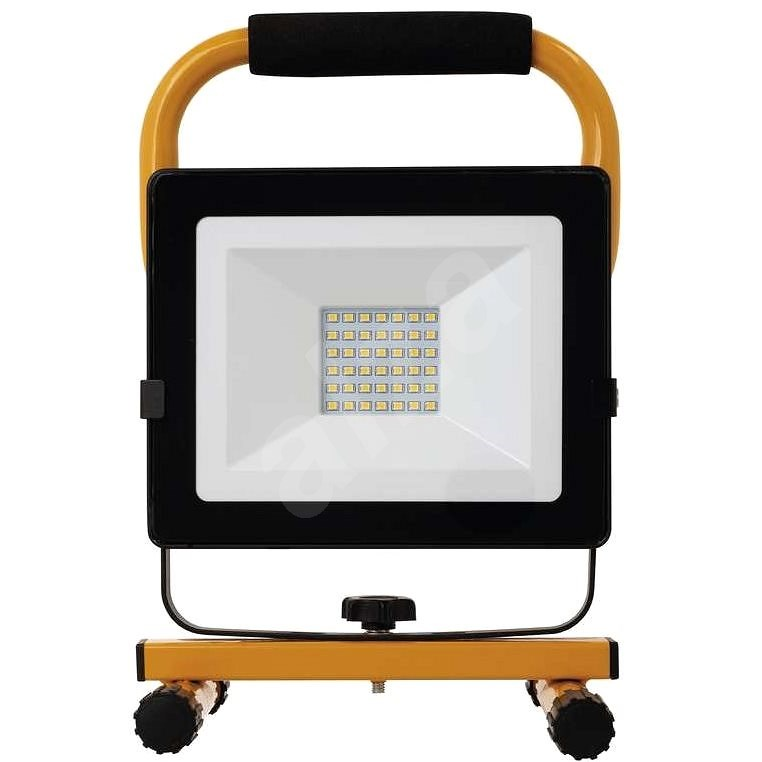 EMOS LED reflektor přenosný, 30W neutrální bílá - LED reflektor