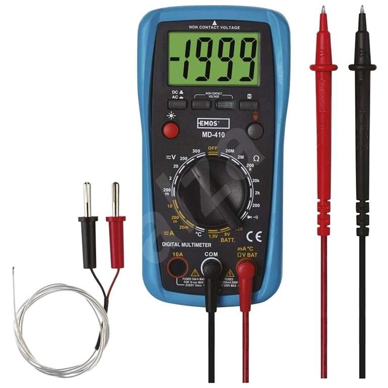 EMOS Měřící přístroj - multimetr MD-410 - Multimetr
